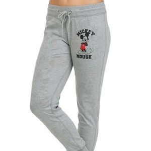 Disney Pants - DISNEY Reversible Sweatpants! Mickey Mouse